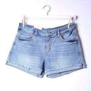 H&M Demin NWT_ Relaxed Shorts Size 10
